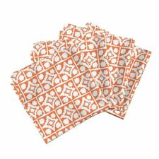Home Dec Tile Organic Spots Dots Cotton Dinner Napkins by Roostery Set of 4