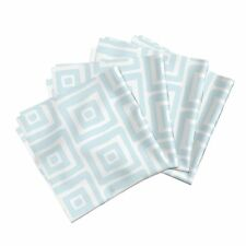 Home Dec Modern Quilt Organic Square Cotton Dinner Napkins by Roostery Set of 4