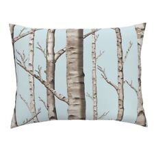 Birch Grove Birch Forest Woods Forest Birches Trees Boys Pillow Sham by Roostery