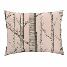 Birch Grove Birch Forest Woods Forest Birches Trees Baby Pillow Sham by Roostery