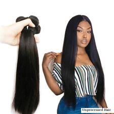 100% REMY Hair Extensions 7A VIRGIN Brazilian/Malaysian/Peruvian/Indian STRAIGHT