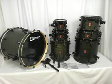 Premier Drums XPK Series 7 Piece Shell Pack Kit/Black Ash Satin/Quick FIve