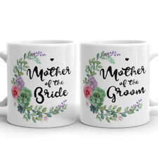 Mother of the Groom Mom of Bride Beautiful Coffee Mug Mother In Law Wedding Gift
