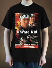 THE KARATE KID Movie Poster ver. 1 Pat Morita T-Shirt (Black) S-5XL