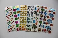 Hambly stickers 1 sheet - Music Sports School Other You Choose!