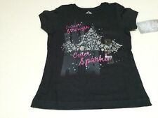 NWT Disney store Princess Crown Girls Tee Shirt Top SZ 4,5/6,7/8