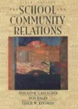 School and Community Relations, The-ExLibrary