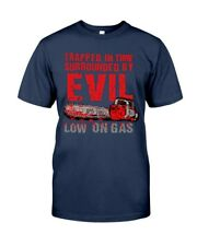 Army Of Darkness - Low On Gas Adult Classic Man T-Shirt - Navy