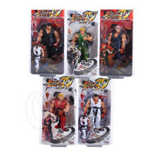 Neca Bandai Street Fighter 7 inch Survival Ken Ryu Guile Action Figure