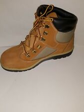 TIMBERLAND JUNIOR 6 INCH LEATHER FIELD BOOT/WHEAT NUBUCK/TB044993/M/M