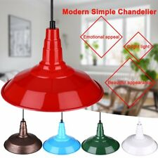 Modern Simple Chandelier Sconce Wall Light Lamps Iron Cage Gooseneck Type