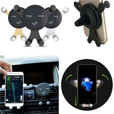 Universal 360°Gravity Car Mount Air Vent Holder Stand  For Cell Phone GPS New
