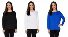 NWT VIEW by WALTER BAKER QVC Dolman Sleeve Knit Top Many Sizes  240176RM