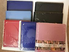 NIP Creative Memories 12X12 Scrapbook Coverset Album Petal Ruby Sapphire Black