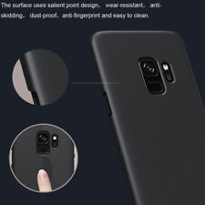 For Samsung Galaxy S9/ S9+ Nillkin Matte Hard Cover Skin Case + Screen Protector
