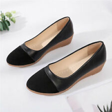 Women Fashion Casual Cut Out Pointed Toe Flat Shoes PU Leather Plus Size Slip On