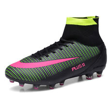 NEW Mens Soccer Football Shoes High Top Cross Training Cleats Athletic Sneakers