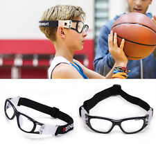 Kids Safety Sports Goggles Glasses Eyewear Adjustable Basketball Football Tennis