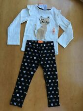 NWT Gymboree City Kitty Kitty Shirt top Kitty cat Leggings set many sizes