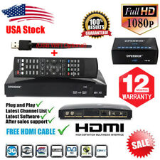 Openbox V8S Satellite Receiver + USB WIFI FTA PVR Support 2*USB WEB TV Biss key
