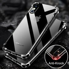 Hybrid Slim Shockproof Soft TPU Bumper Clear Cover Case For iPhone X 6 7 8 Plus