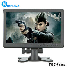 "10.1"" Inch HDMI LCD Computer Monitor Gaming PC VGA/USB For Raspberry Pi PS4 Xbox"