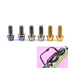 M5x12mm Titanium Bicycle Water Bottle Cage Bolt Bicycle Bottle Holder Screw
