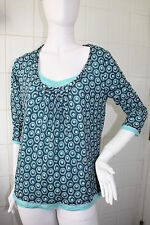 Brand New Boden Double Layer Twisted Scoop Neck Top size 16-22