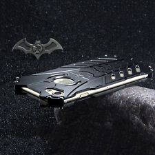 Luxury Batman Metal Aluminum Bumper Shockproof Back Case For iPhone 6 6s 7 Plus