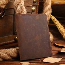 Top Quality Natural Genuine Leather Men Wallets Famous Brand Vintage Male Wallet