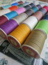 Fil au Chinois No.632 Waxed Linen Cable Leatherwork Thread 0.51 mm- 50g Spool