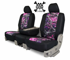 Custom Fit Seat Cover for Fiat 124 Spider In Moon Shine Camo Front & Rear
