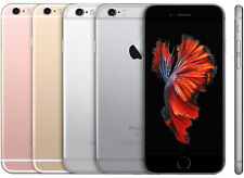 USED iPhone 6S 16gb/32gb/64gb  Unlocked Smartphone in Gold, Silver, Gray or Rose