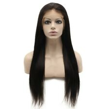 Long Straight Brazilian Human Hair Wigs Lace Front Full Wig Full Lace Baby Hair