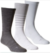 Under Armour Performance Crew Socks 3 Pair Pack White Assorted
