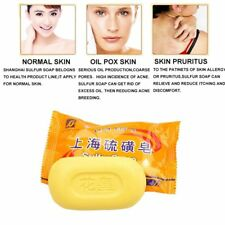 1/5/10 Pcs Dermatitis Anti Acne Skin Care Body Cleansing Product Sulfur Soap