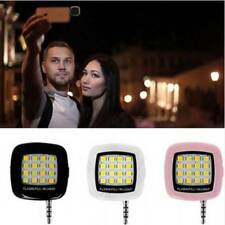 Portable Mini 16 LED Selfie Flash Fill Light for Mobile Cell Phone IOS Android q