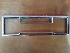 4 Band chrome Face Plate Mercedes Porsche classic Becker Europa car radio