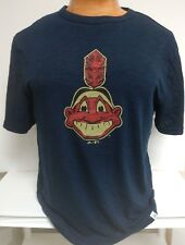 CLEVELAND INDIANS THROWBACK CHIEF WAHOO  COOPERSTOWN MAJESTIC NEW PICK SIZE