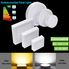 9W 15W 21W LED Ceiling Down Light Lamp Kit Surface Mounted Home Office Kitchen