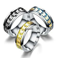 New Women Fashion Casual Wedding Charm Butterfly Pattern Jewelry Ring EHE8