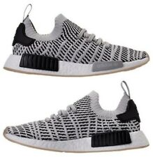 ADIDAS NMD RUNNER R1 STLT PK MESH CASUAL MEN's GREY - CORE BLACK AUTHENTIC NEW