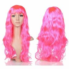 Fashion Halloween Party Hairpiece Curly Long Hair Wig Sexy Lady Full Wigs BU