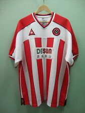 Mens Sheffield United Football Shirt 2002-2004 Desun - UK Size XL 46-48