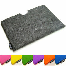 Surface Go (2018) felt sleeve case wallet, UK MADE, PERFECT FIT. 5 colours!