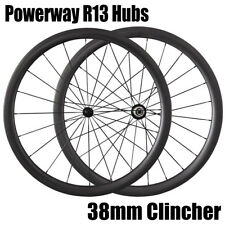 700C Lightweight Wheelset Bicycle Wheels 38mm Carbon Clincher Wheelset 23mm Wide