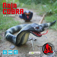 RC Snake Infrared Remote Control Cobra Toy Funny Prank Toys Gift Gag Novelty