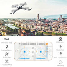Foldable Remote Controlled Aircraft WIFI FPV APP Control Drone 30W Pixels Camera