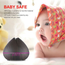 400ml Ultrasonic Air Humidifier Aroma Essential Oil Diffuser 7 LED Colors Light