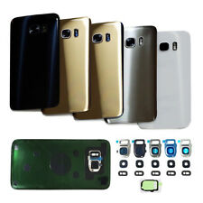HK- Rear Glass Housing + Camera Lens Cover + Tape for Samsung Galaxy S7/S7 Edge